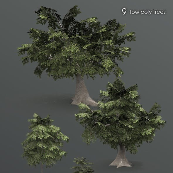 9 forest trees