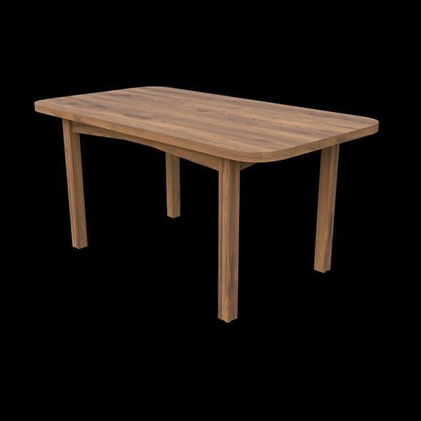 Rectangular table - 3DOcean Item for Sale