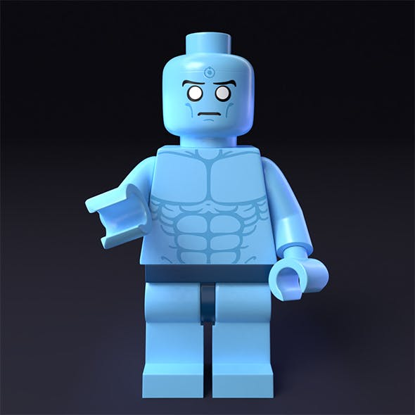 LEGO minifigure - Dr. Manhattan - Watchmen