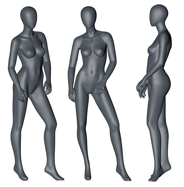 Female Mannequin 3d printing model 9 - 3DOcean Item for Sale