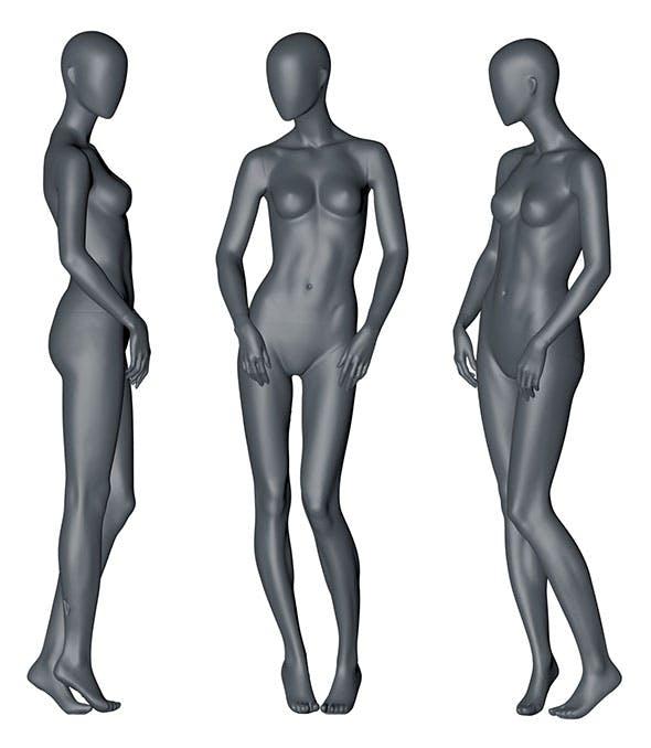 Female Mannequin 3d printing model 10 - 3DOcean Item for Sale