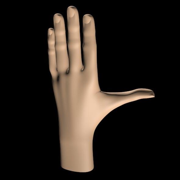 Left Hand - 3DOcean Item for Sale
