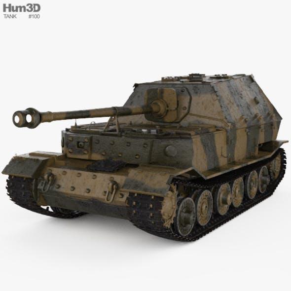 Elefant tank destroyer - 3DOcean Item for Sale