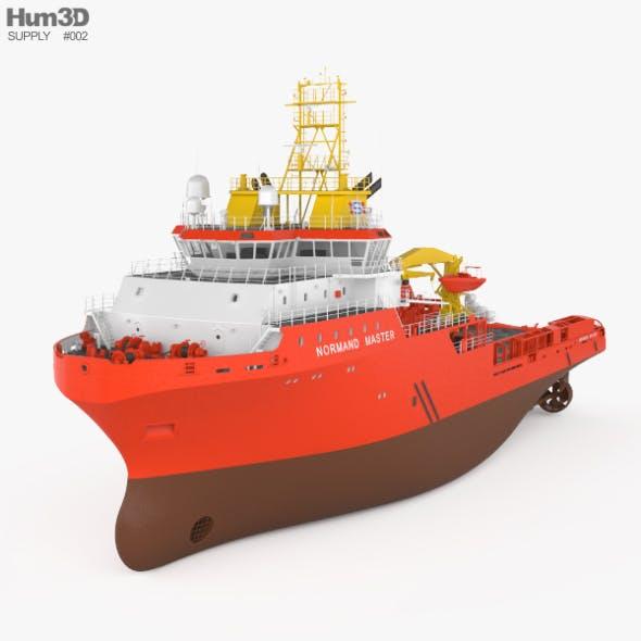 Anchor handling tug supply vessel - 3DOcean Item for Sale