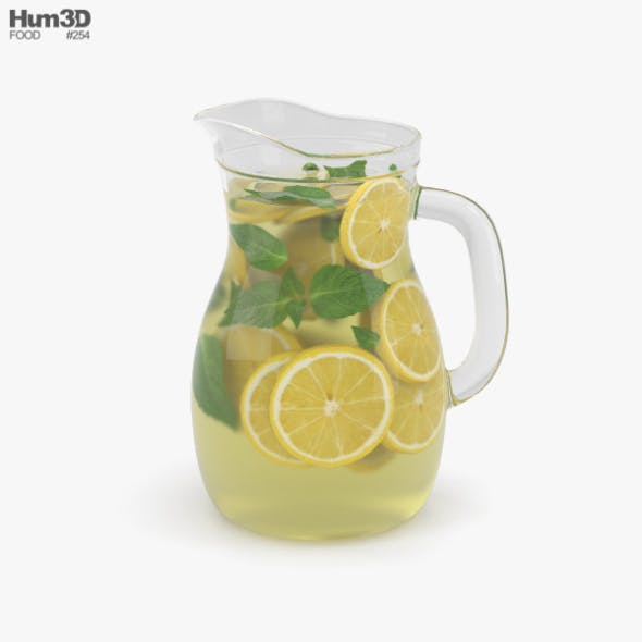 Lemonade Pitcher - 3DOcean Item for Sale