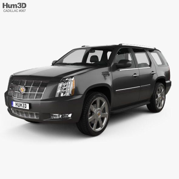 Cadillac Escalade 2012 - 3DOcean Item for Sale