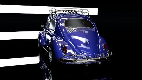 beetle 66 oldschool - 3DOcean Item for Sale