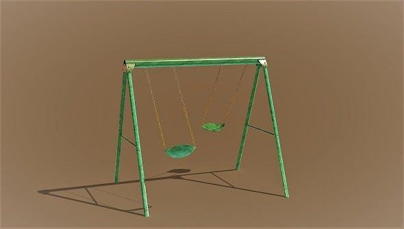 Swing 3D model - 3DOcean Item for Sale