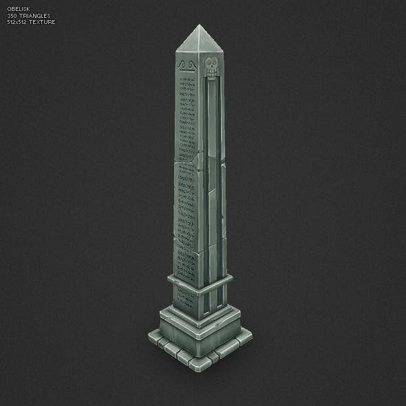 Low Poly Obelisk