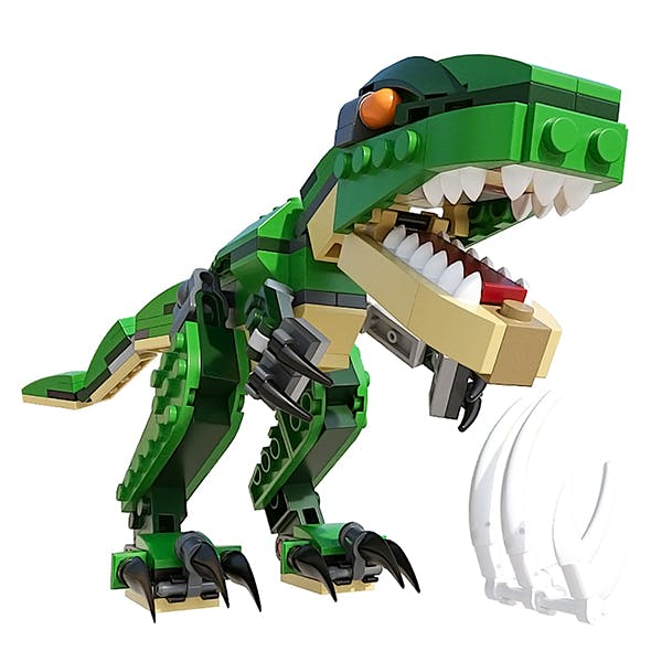 LEGO Mighty Dinosaurs - 3DOcean Item for Sale