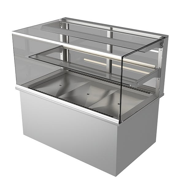 refrigerated display case - 3DOcean Item for Sale