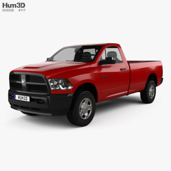Dodge Ram 3500 Regular Cab pickup 2014 - 3DOcean Item for Sale