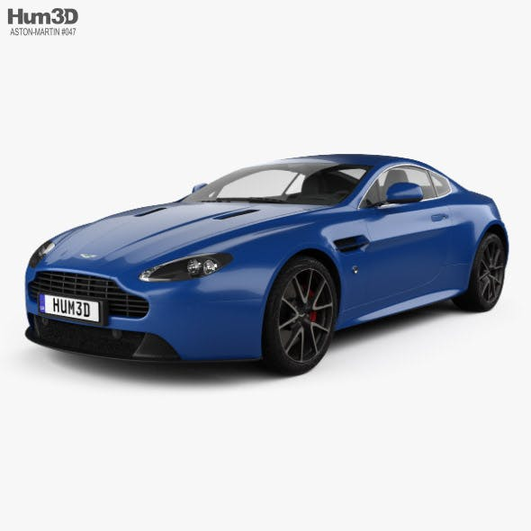 Aston Martin V8 Vantage S 2015 - 3DOcean Item for Sale