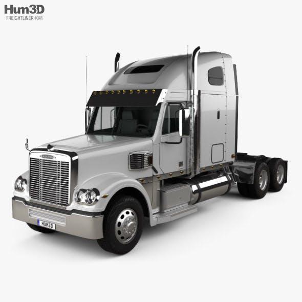 Freightliner Coronado Sleeper Cab Tractor Truck 2009 - 3DOcean Item for Sale