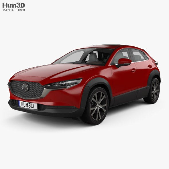 Mazda CX-30 with HQ interior 2020 - 3DOcean Item for Sale