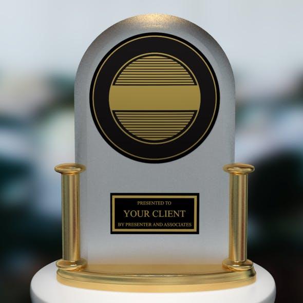 Cinema 4d Project of J.D. Power Award