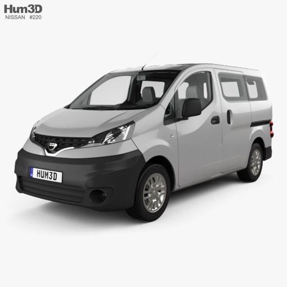 Nissan NV200 combi with HQ interior 2011