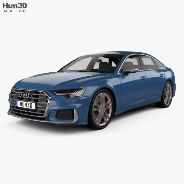 Audi S6 sedan 2019 - 3DOcean Item for Sale