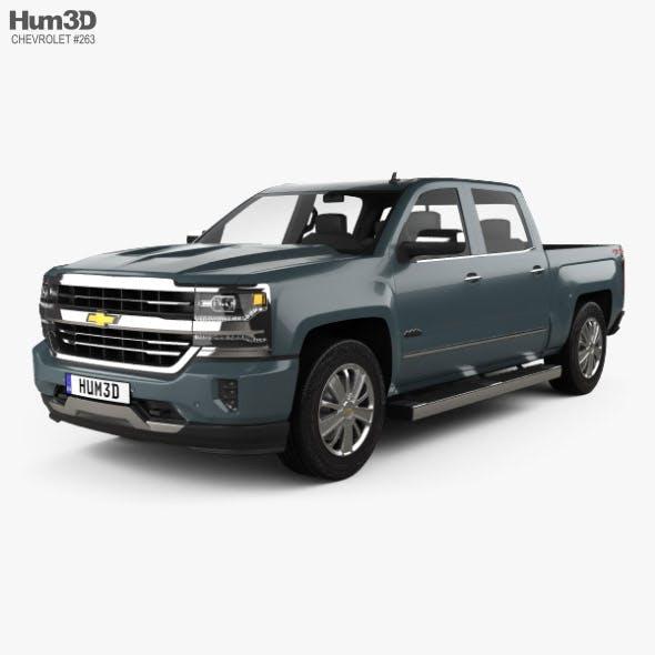 Chevrolet Silverado 1500 Crew Cab Short Box High Country 2018 - 3DOcean Item for Sale