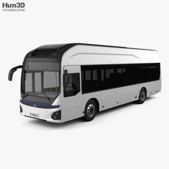 Hyundai ELEC CITY Bus 2017 - 3DOcean Item for Sale