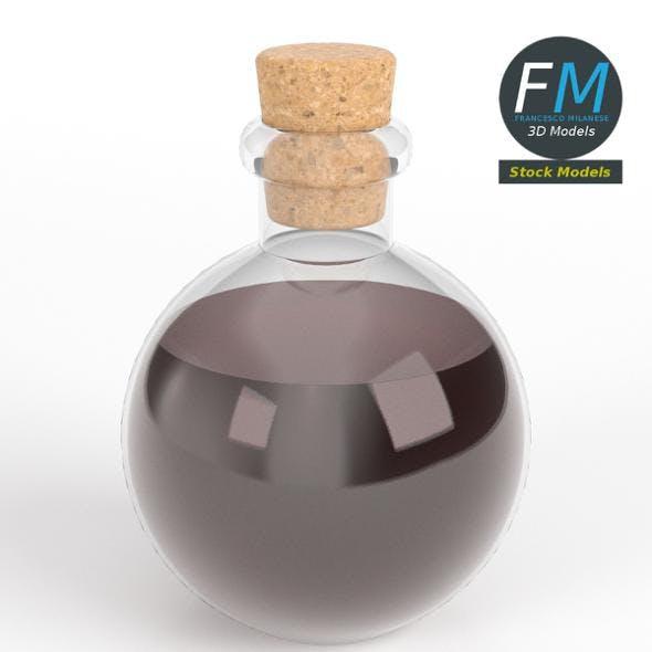 Spherical potion flask - 3DOcean Item for Sale