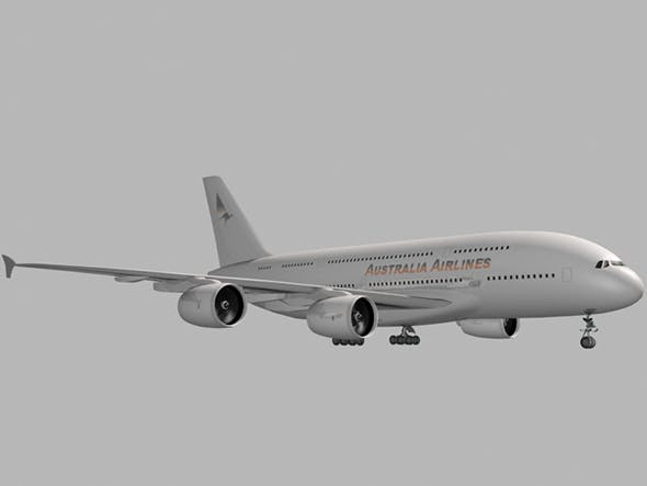 Airbus A 380 - 3DOcean Item for Sale