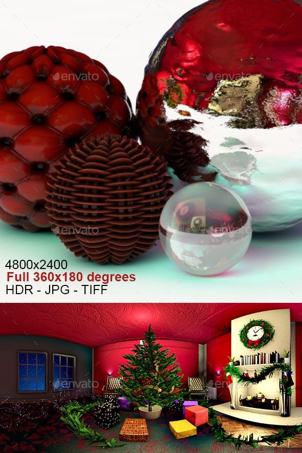 Christmas Tree Interior HDRI - 3DOcean Item for Sale