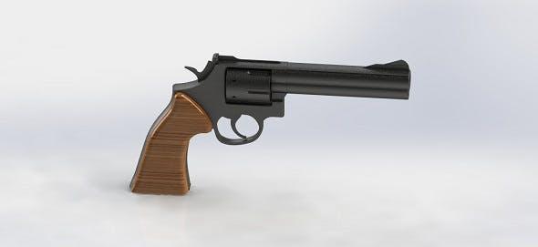 Revolver 3D Model - 3DOcean Item for Sale