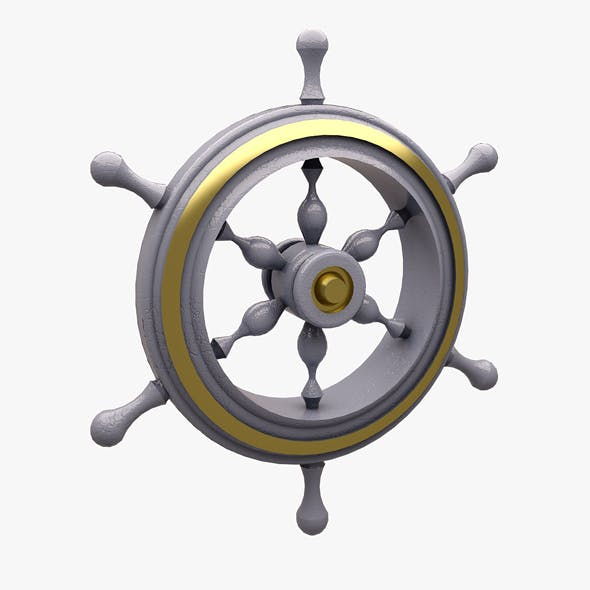 Ship Wheel - 3DOcean Item for Sale