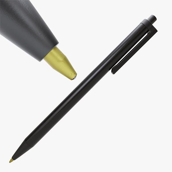 Detailed Ballpoint pen - 3DOcean Item for Sale