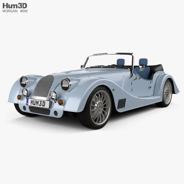 Morgan Plus Six 2020 - 3DOcean Item for Sale