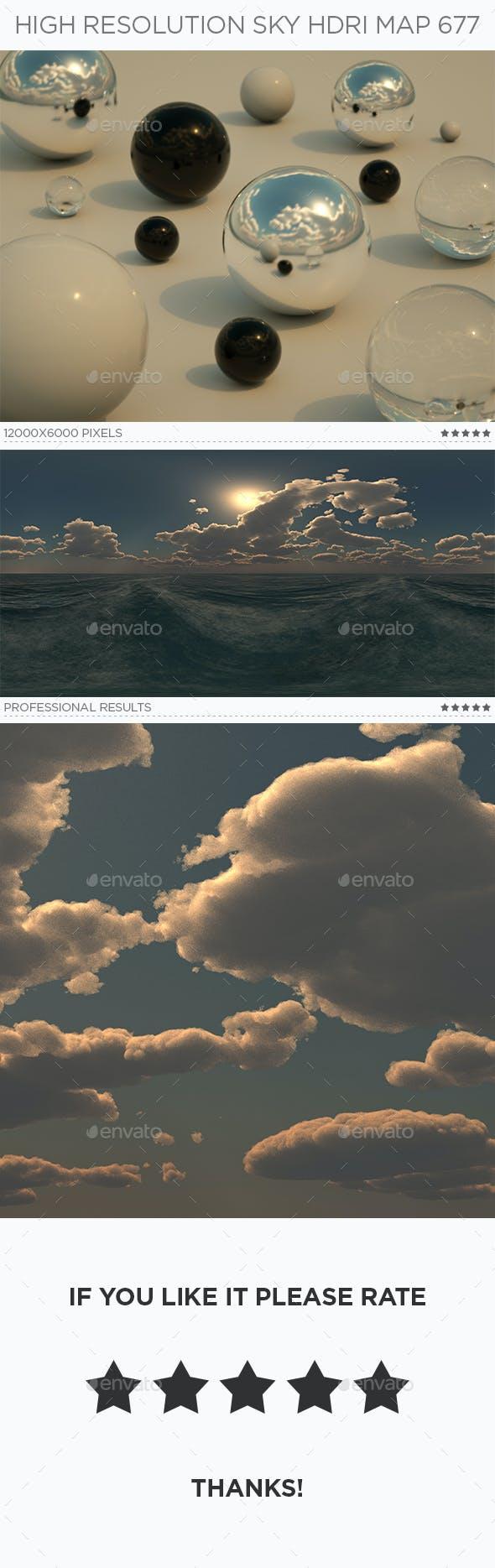 High Resolution Sky HDRi Map 677 - 3DOcean Item for Sale
