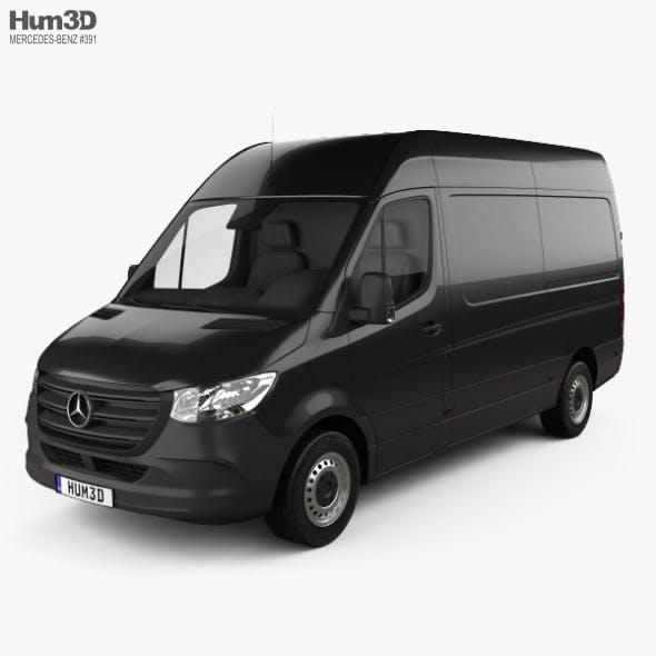 Mercedes-Benz Sprinter Panel Van L2H2 2019 - 3DOcean Item for Sale