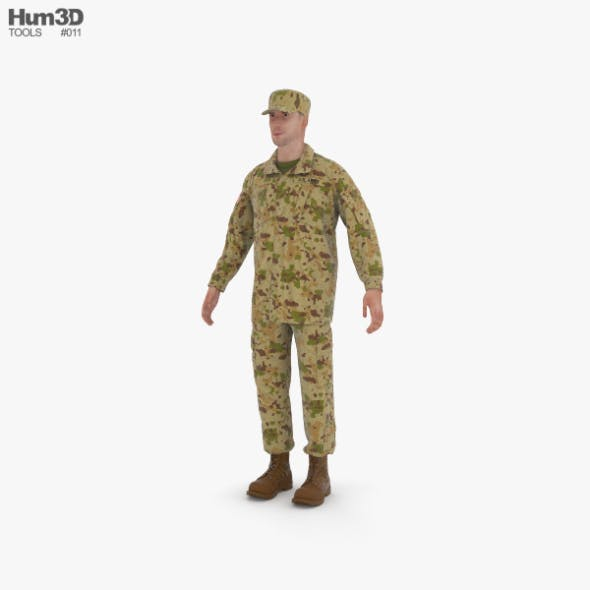Soldier - 3DOcean Item for Sale