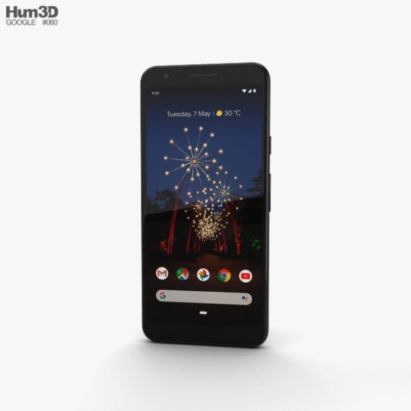 Google Pixel 3a Just Black - 3DOcean Item for Sale