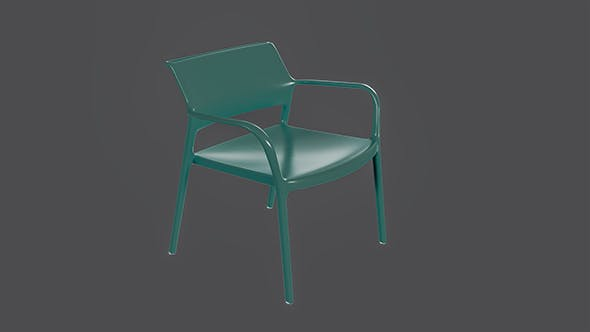 Ara 316 Armchair - 3DOcean Item for Sale