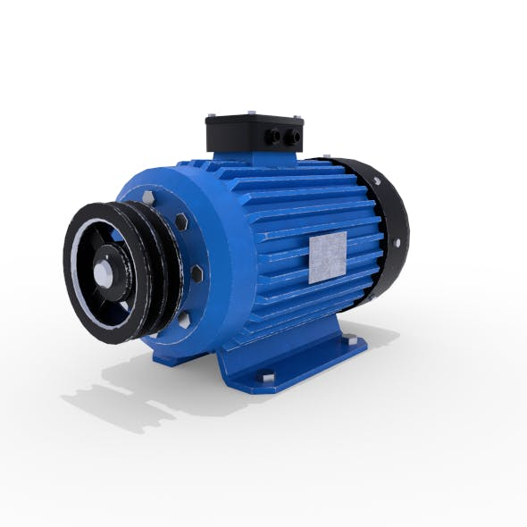 Electric Motor 1 - 3DOcean Item for Sale