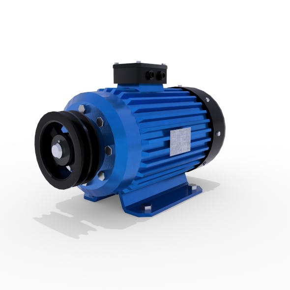 Electric Motor 2 - 3DOcean Item for Sale