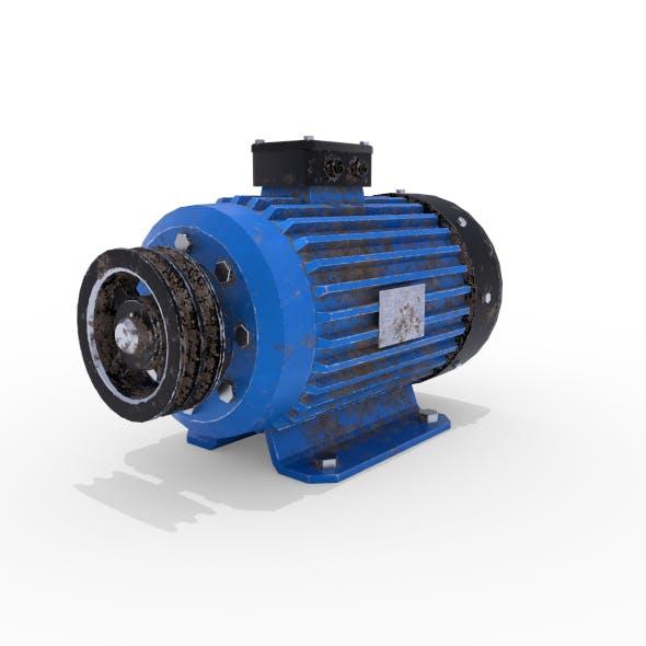 Electric Motor 3 - 3DOcean Item for Sale