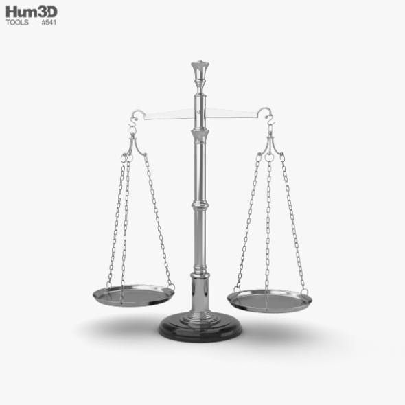 Balance Scale - 3DOcean Item for Sale