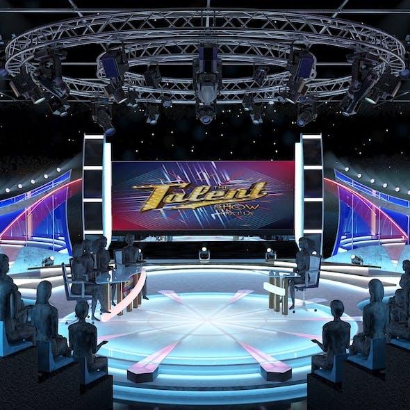 TV Studio Entertainment Set 2