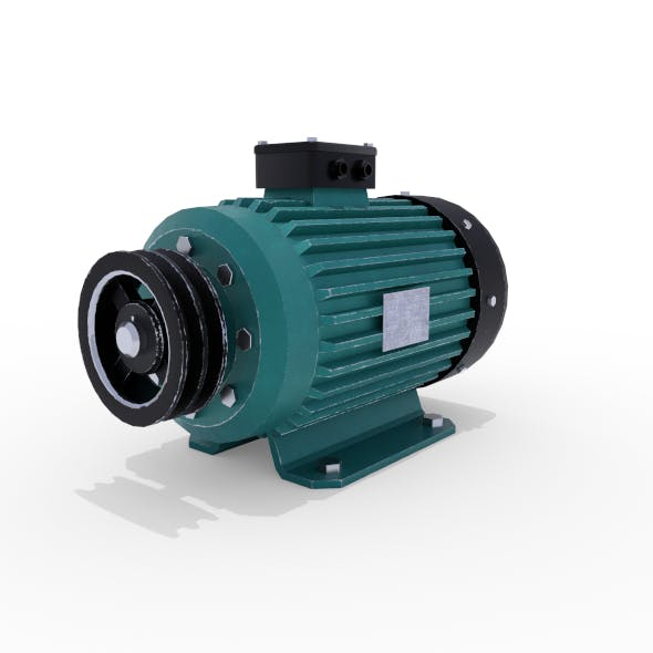 Electric Motor 5 - 3DOcean Item for Sale