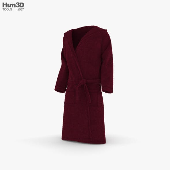 Bathrobe - 3DOcean Item for Sale