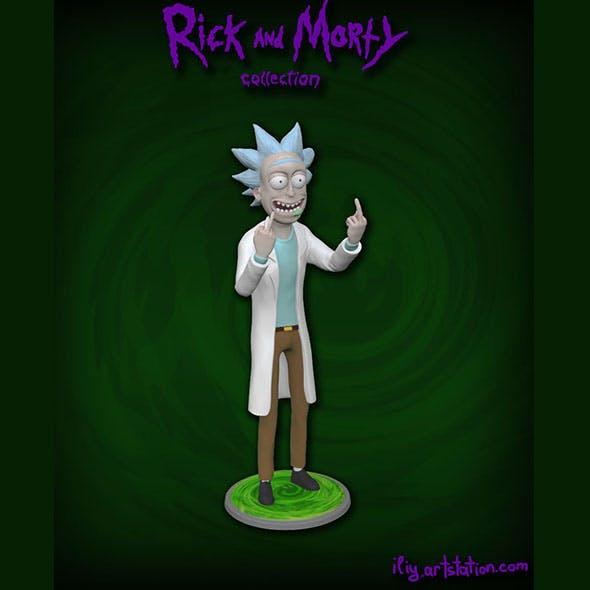 Rick - 3DOcean Item for Sale