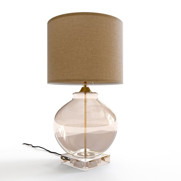 Bedside lamp - 3DOcean Item for Sale