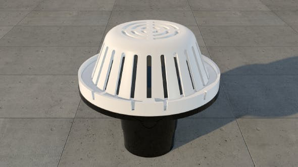 Roof Drains - 3DOcean Item for Sale
