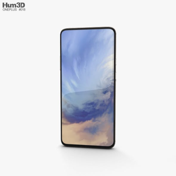 OnePlus 7 Pro Almond - 3DOcean Item for Sale