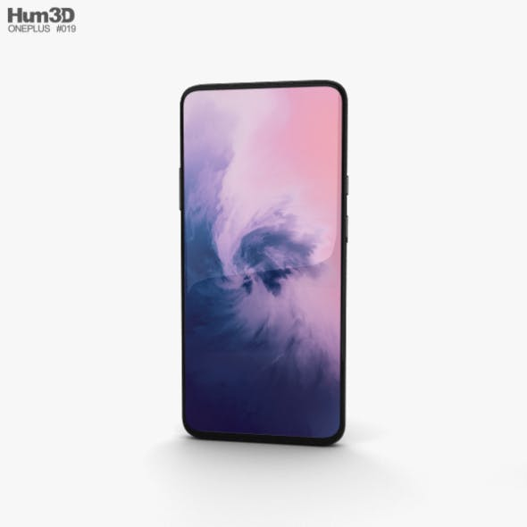OnePlus 7 Pro Mirror Grey - 3DOcean Item for Sale