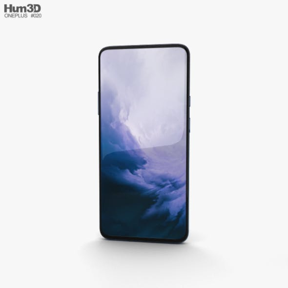 OnePlus 7 Pro Nebula Blue - 3DOcean Item for Sale
