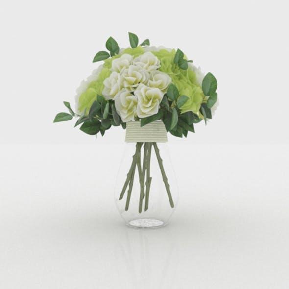 Flower In Vase - 3DOcean Item for Sale